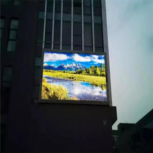 鞍山激光产业园户外P10-28.6 平米